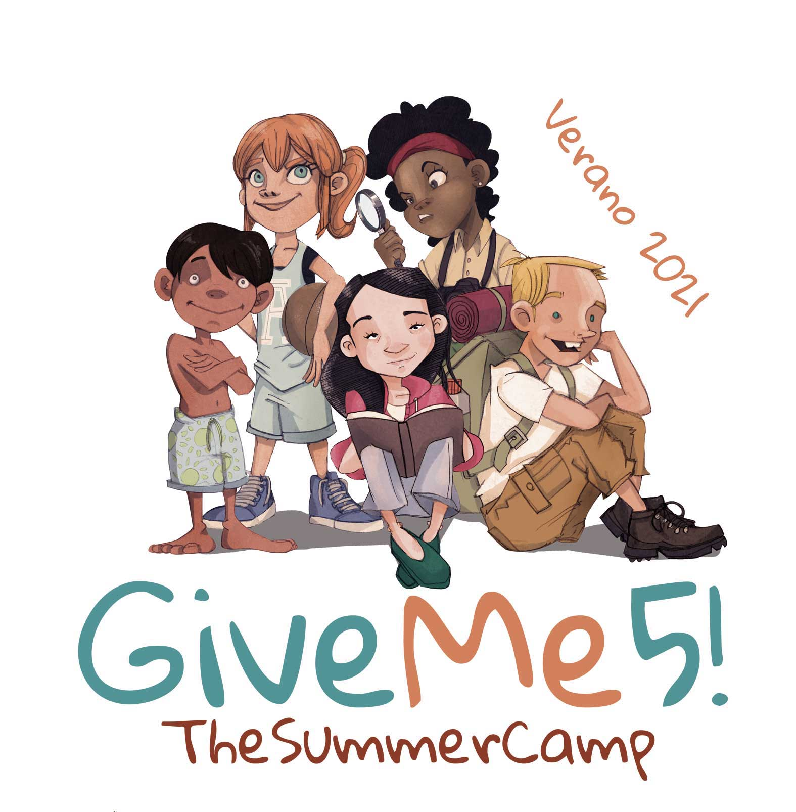 GiveMe5! The summer camp